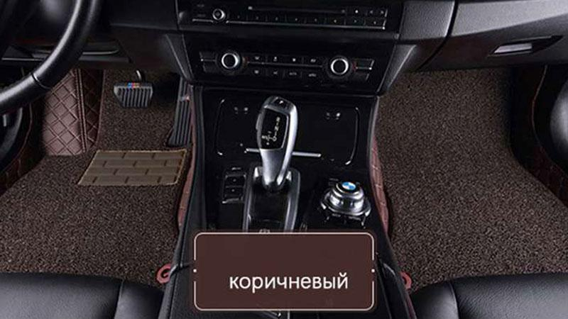 Коврик для TOYOTA LAND CRUISER 200 2007 (кожа + резина)